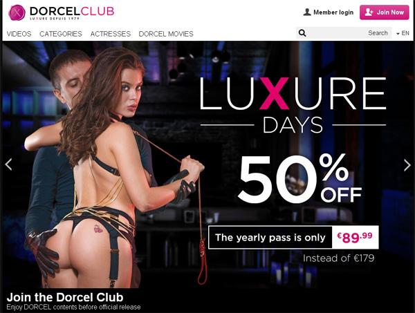 Dorcelclub.com Discount