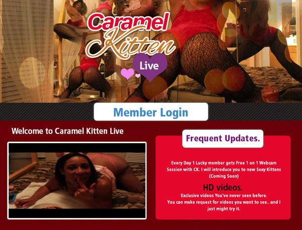 Caramelkittenlive.com Gratis