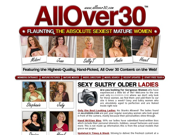Allover30 Password Login