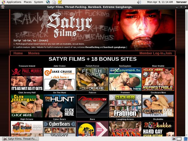 Satyr Films Gay Throatfuck