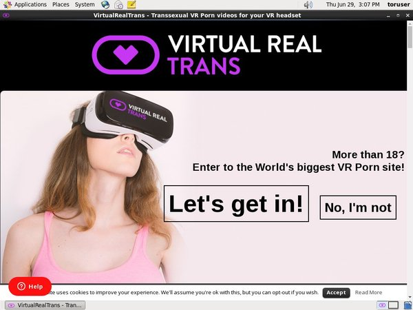 Virtualrealtrans.com Members Area