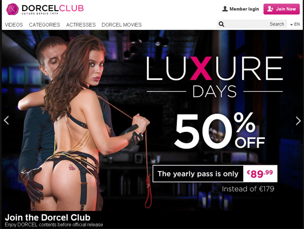Free Account To Dorcelclub